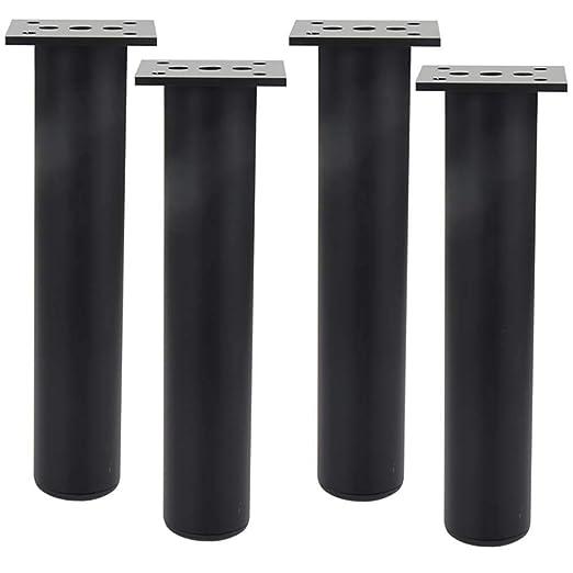 Patas de Mesa de Aluminio Patas de Mesa Ajustable Conjunto de 4 ...