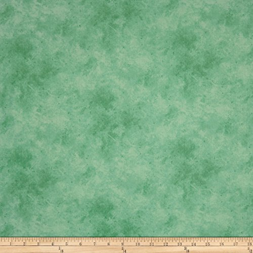 P & B Textiles Suede Soft Hues Mint Fabric by The Yard -  00299-SUES-M