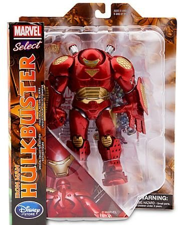 Disney Marvel Avengers Marvel Select Hulkbuster Exclusive 8 Action Figure -
