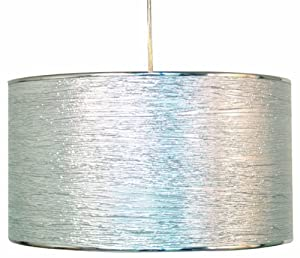 C Création 277796 Hängeleuchte aus Aluminium, Knitteroptik, 60W, E27, 230V,...