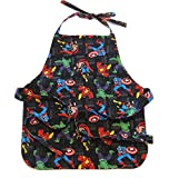 Handmade Toddler/Boy Apron, by DesignsByDowning (Black Superheroes)