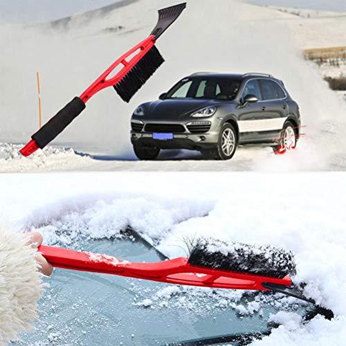 LQT Ltd 2 in 1 Shovel Car Vehicle Durable Snow Ice Scraper Snow Brush Shovel Removal for -