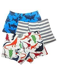 Boys Underwear Dinosaur Kids Boxer Briefs Cotton Underpants 3 Pack
