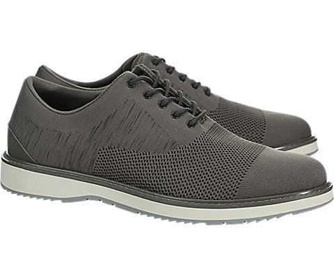 SWIMS Barry Oxford Knit In Khaki Melange/Gray, Size 8 by SWIMS (Image #1)