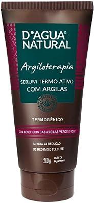 Serum Termo Ativo com Argilas, D'agua Natural, 200 g