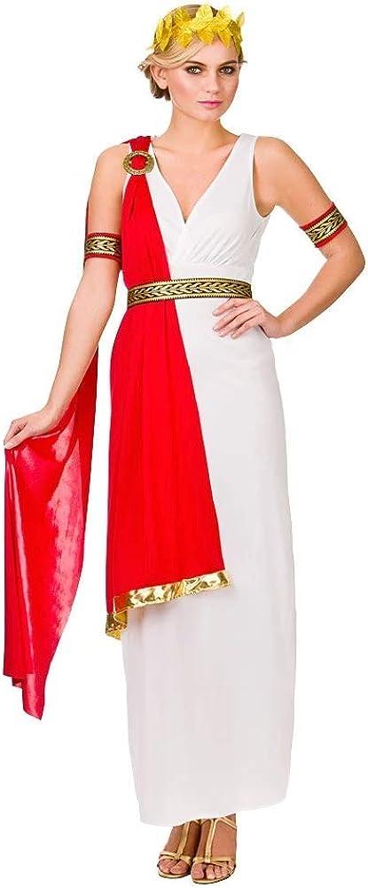 Glamorous Roman Lady Toga Costume Woman Fancy Dress