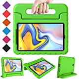 BMOUO Kids Case for Samsung Galaxy Tab A 8.0 2018 SM-T387, Shockproof Light Weight Protective Handle Stand Kids Case for Galaxy Tab A 8.0 Inch 2018 Release SM-T387 - Green