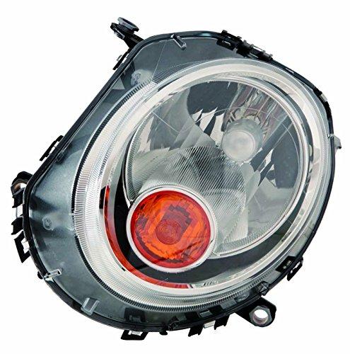 MINI COOPER S clubman 07-13 HALOGEN HEAD LIGHT with AMBER SIGNAL LH 63132751869