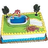 Amazon Com Beach Chair And Umbrella Decoset Cake