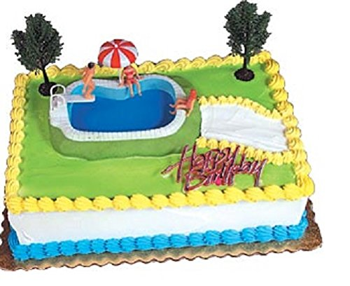 Oasis Supply Swimming Pool Cake Decorating Kit, 1 Set