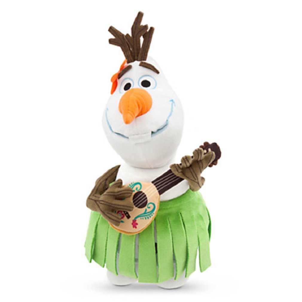 New Olaf Aloha Plush Disney Frozen Small 13