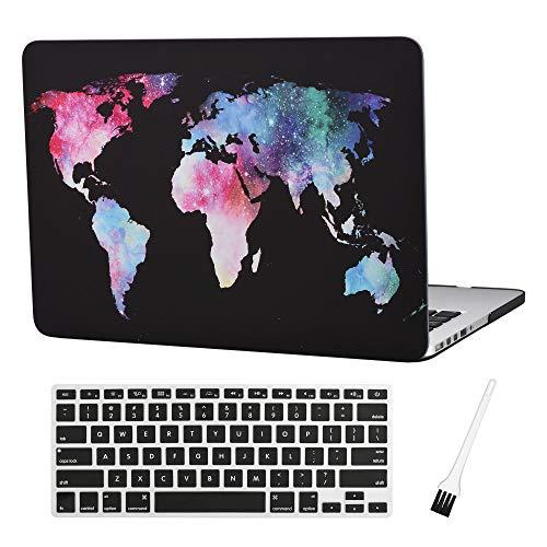 Plastic MacBook Silicone Keyboad Pattern Black