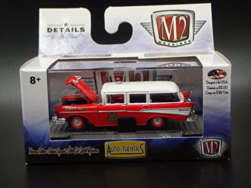 1957 CHEVROLET 210 STATION WAGON FIRE CHIEF 2017 M2 AUTO-THENTICS R45 17-80 ()