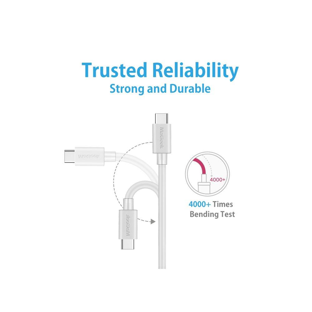 LG G6 MaGeek/® 1,0m Cable USB Tipo C OnePlus2 y m/ás Google Pixel XL Verde S8 Plus USB-C Nuevo MacBook Nexus 6P a USB 2.0 para Samsung Galaxy S8