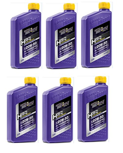 Royal Purple 31250 HPS Street Synthetic Motor Oil 20W50 Pack