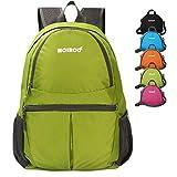 Waterproof Daypack, MCIRCO Lightweight Hiking Backpack 20L Water Repellent Backpack Foldable to a Single Shoulder Bag Outdoor Backpack Hiking Backpack Biking Backpack Climbing Backpack (Green)