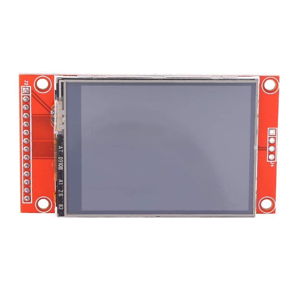 Akozon 3.3V 240 x 320 2.4 SPI TFT Ecran Tactile LCD Module daffichage Panneau Portatif avec PBC ILI9341 pour Arduino