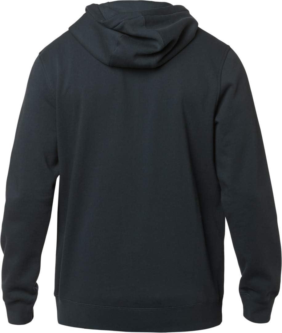 Sand//Black Fox Racing Mens Legacy Fox Head Pullover Fleece Hoodie