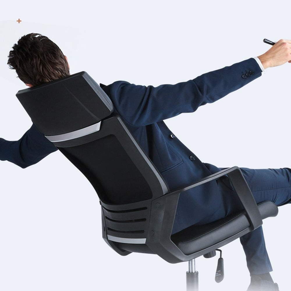 Barstolar THBEIBEI Ergonomisk kontorsstol spelstol datorstol modern enkelhet hushåll och fritid ett stycke ryggstöd bärande vikt 200 kg 2 färger (färg: svart) Brun