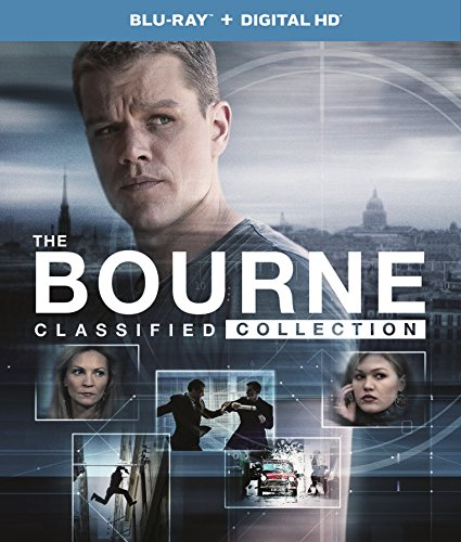 The Bourne Classified Collection (Bourne Identity / Bourne Supremacy / Bourne Ultimatum / Bourne Legacy) (Blu-ray + Digital HD)