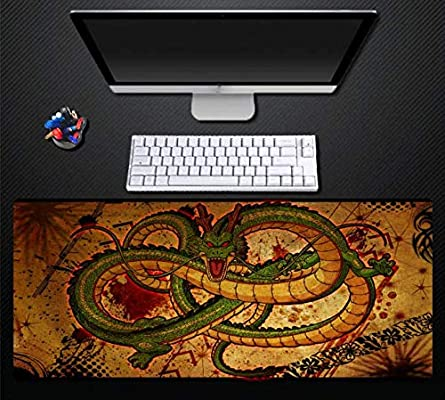 RKZM Alfombrilla Seven Dragon Ball para computadora Juego Grande ...