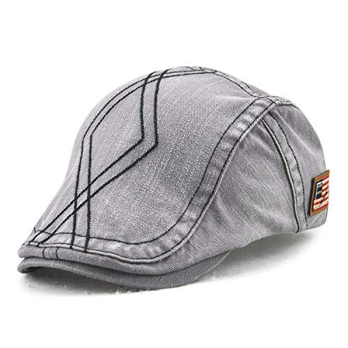 Hombres de Tela Salvaje la GLLH qin Forma la de Sombrero de Pato hat Moda en de Sombrero Pato de D Cruzada de los Sombrero Sombreros F Diamante P707Xrnq