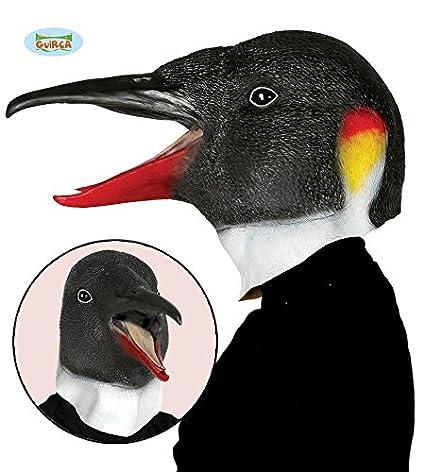 Guirca 2566 - Careta Pinguino Latex: Amazon.es: Juguetes y ...