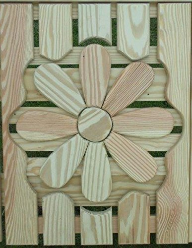 Pressure Treated Pine Designs Cut Out Decorative Interchangeable Panels Butterfly Settee
