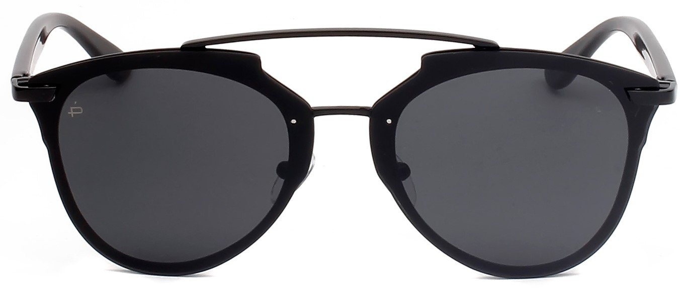"PRIVÉ REVAUX ICON Collection ""The Benz"" Designer Geometric Sunglasses"