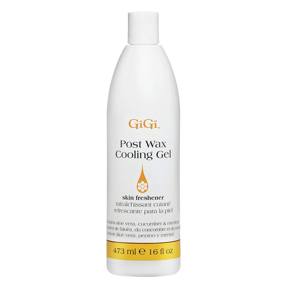 GiGi Post Wax Cooling Gel - After-Wax Skin Freshener, 16 oz
