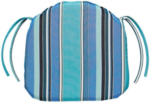 Bullnose Contoured Outdoor Chair Cushion, 3