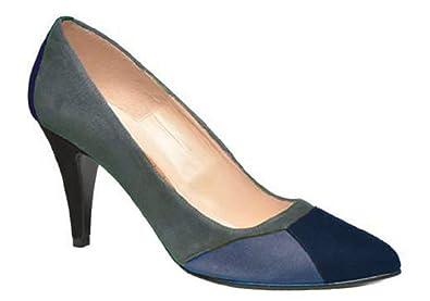 Femmes chaussures escarpin daim model CHARLYSSE par HGilliane Design Eu 33 au 44