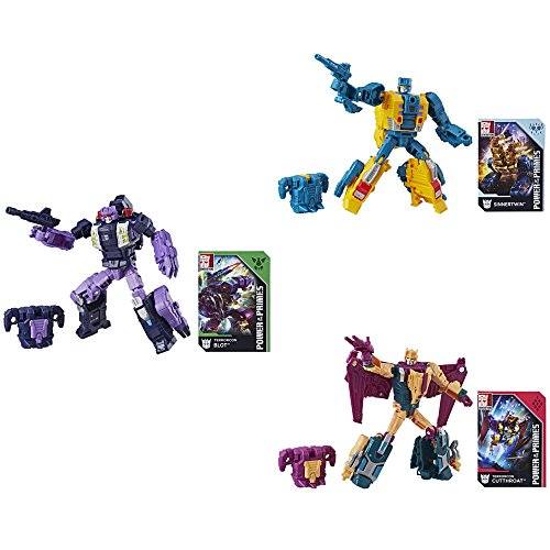 - Action Figures Transformers Power of the Primes Deluxe Wave 3 Set of 3