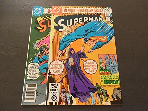 2 Iss Superman #351-352 Sep-Oct 1980 Bronze Age DC Comics