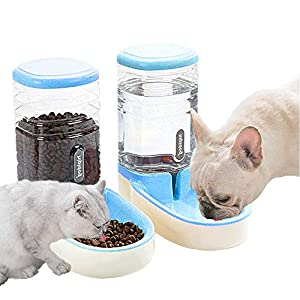 Lucky-M Pets Automatic Feeder Set (Blue) Click on image for further info.