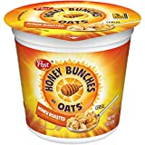 Post Honey Bunches of Oats Honey Roasted Breakfast Cereal, 2 Ounce Cups (Pack of 60) For Sale
