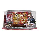 mini ranger - Power Rangers Megaforce Mini Battle-Ready Figures, 6 Pack
