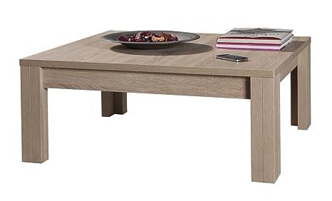 Tavolino Salotto Rovere Chiaro.Composad Tavolino Salotto Basso Moderno Colore Rovere Chiaro