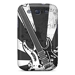 Special NewArrivalcase Skin Case Cover For Galaxy S3, Popular Electric Guitar Phone Case