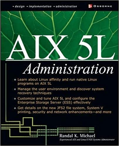 Book AIX 5L Administration (Networking & Communication - OMG)