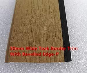 Whitecap 60504 Teak Deck Step Medium 11-1//2 x 4-1//2 x 1//2 Whitecap Industries