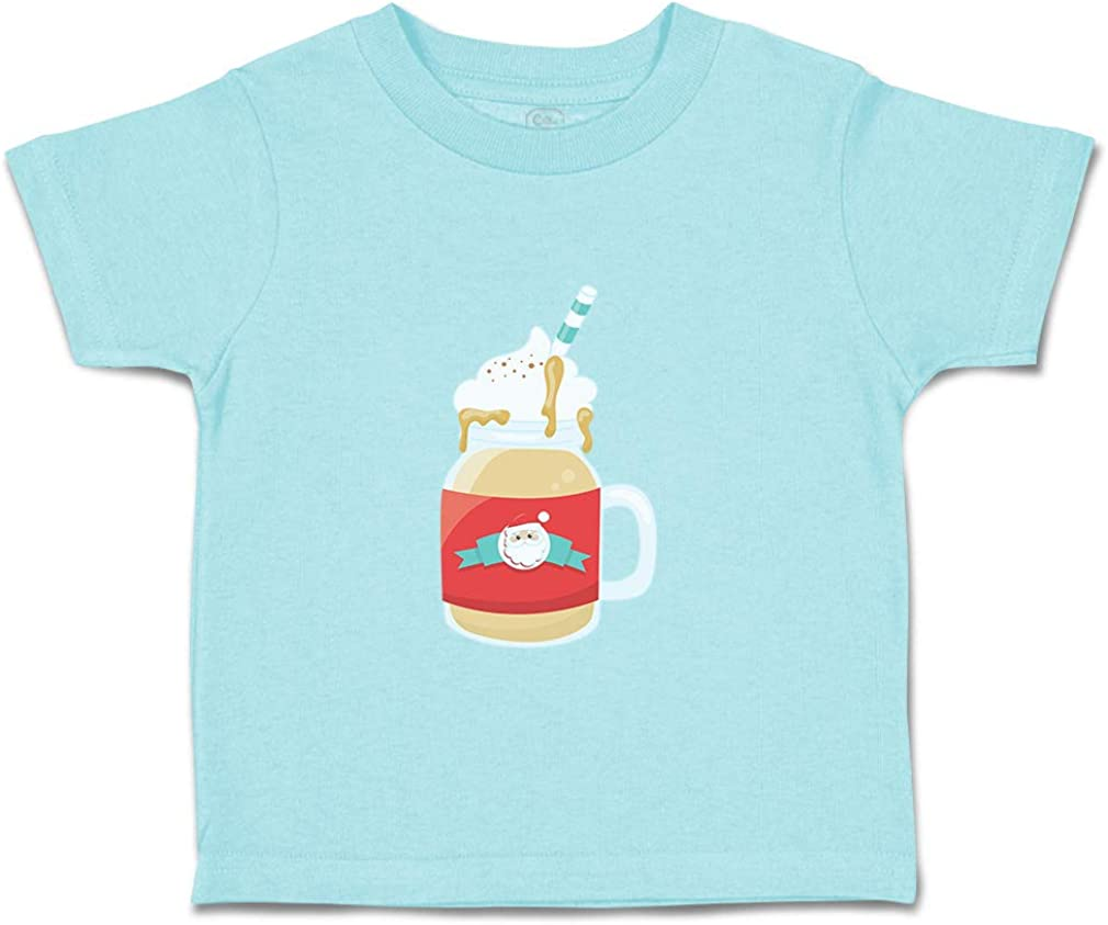 Custom Baby /& Toddler T-Shirt Ice Cold Coffee Santa Cotton Boy Girl Clothes