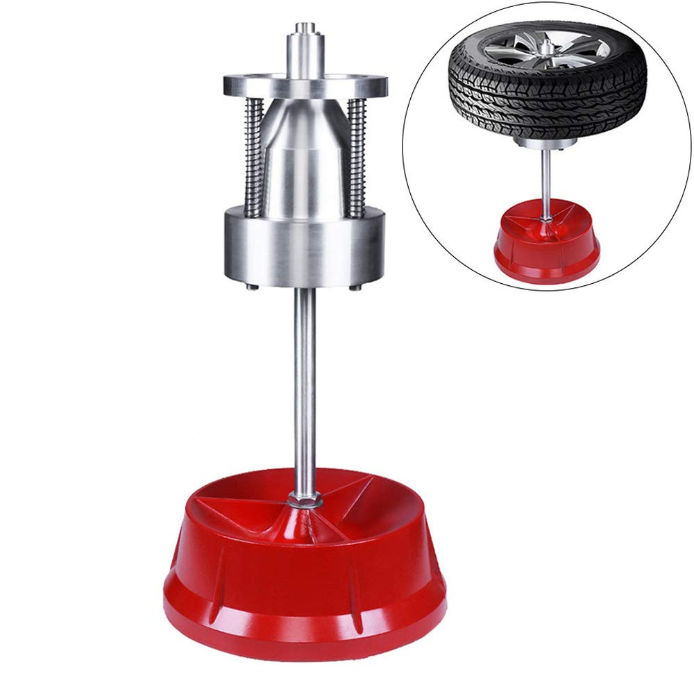 VI-CO Portable Bubble Wheel Balancer, Static Balancing Machine Tire Balancer Changer Ideal for Automobiles and Light Trucks, 1-1/2 in. to 4 in. Diameter by VI-CO