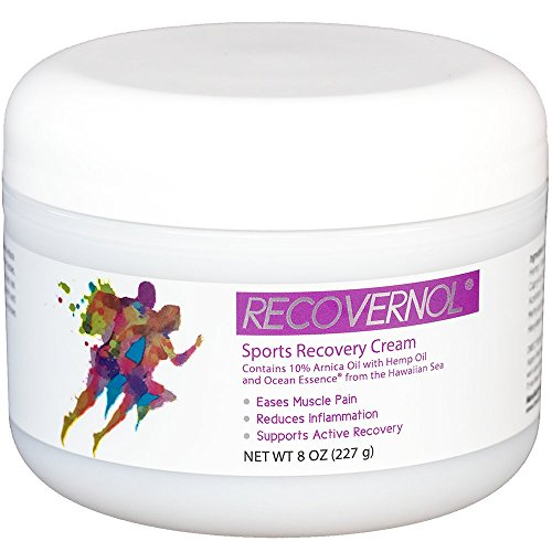 - Recovernol Sports Recovery Cream | Fortfied with 10% Arnica, MSM, Hemp & Coconut Oil, Vitamins A & E plus Ocean Essence Minerals | Supports Joint, Tendon, Ligament & Muscle Repair and Recovery (8 oz)
