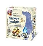 The Honest Kitchen Keen Organic Whole Grain Dog Food - Natural Human Grade Dehydrated Dog Food, Turkey, 10 lbs (Makes 40 lbs)cage free turkey