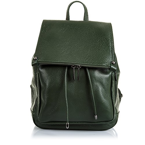 Mujer Skin Suave Artegiani Genuino Bag De Green Soft mochila Auténtica Black piel Verde Leather Color Genuino Cuero Negro Color Grande piel Cm 26x33x18 Cm 26x33x18 Savage Auténtica Woman Pelle Italian Vera Bolso Casual Italiana Savage Pelle mochila Piel mochila Large Vera Italy mochila Firenze In Made Artegiani Tacto Casual Touch Italy In Made Firenze ZTFxwHZtq