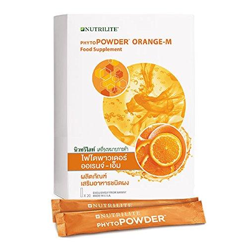 NUTRILITE Phytopowder Orange-M Food Supplement 20 sticks