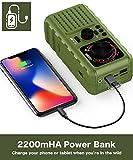 Solar Crank Emergency Radio, YEZRO NOAA/AM/FM