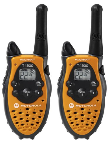 Motorola TalkAbout T4900AA 3-Mile 22-Channel FRS/GMRS Two-Wa