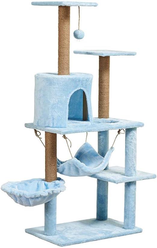 Árbol Rascador para Gatos Marco de escalada suave para gatos ...